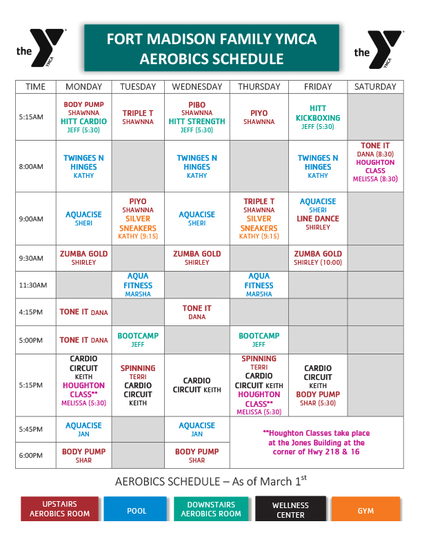 Classes – Fort Madison Family YMCA